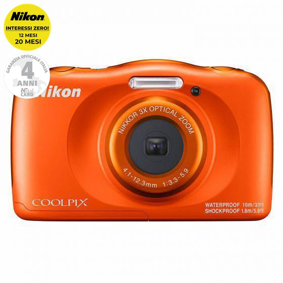 Nikon coolpix W150 ORANGE