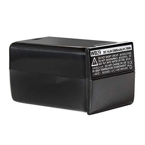 Batteria a litio originale WB29 per Godox AD200