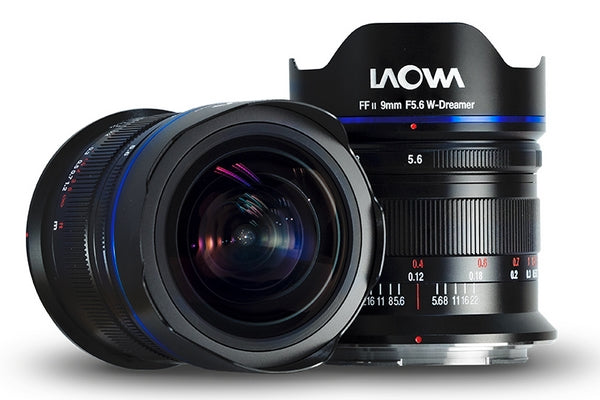 Laowa Venus Optics obiettivo 9mm f/5.6 L-mount nero rettilineo