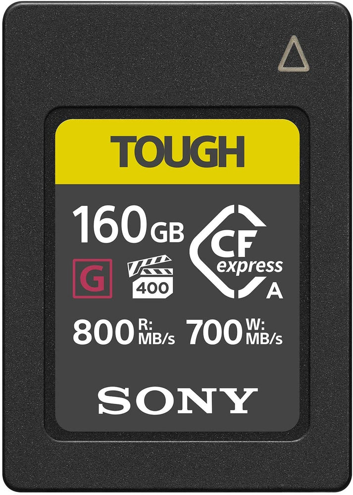 SONY CF EXPRESS 160GB TYPE A TOUGH SERIE G 800MBS/700MBS