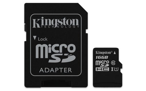 MICRO SD 16GB KINGSTON CLASSE 10