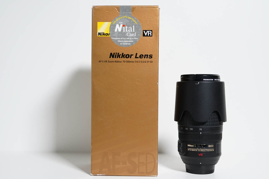 Nikon 70-300mm VR F4.5-5.6 G IF D - Gar. 1 anno