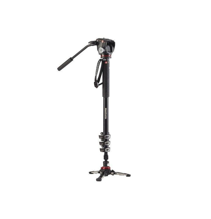 MVMXPROA42W Monopiede Manfrotto video XPRO+ con base fluida e testa a due vie