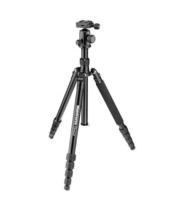 MKELEB5GY-BH Treppiede Manfrotto Element Traveller grande colore nero