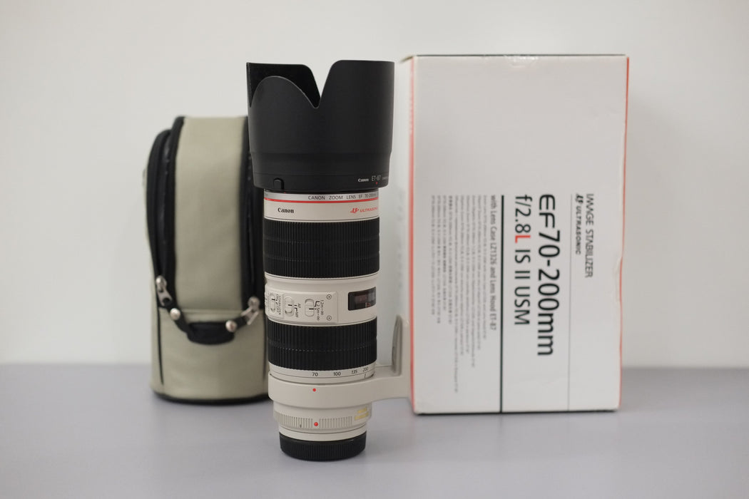 Canon EF 70-200MM F2.8L IS USM II