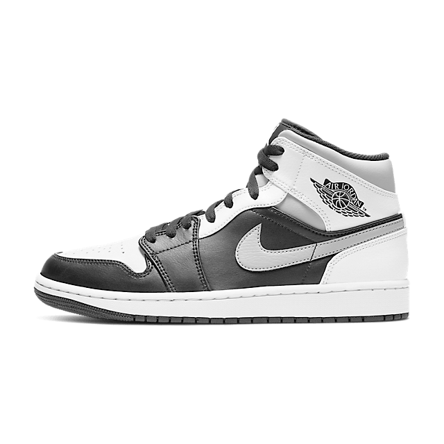 Air Jordan 1 Mid GS White Shadow