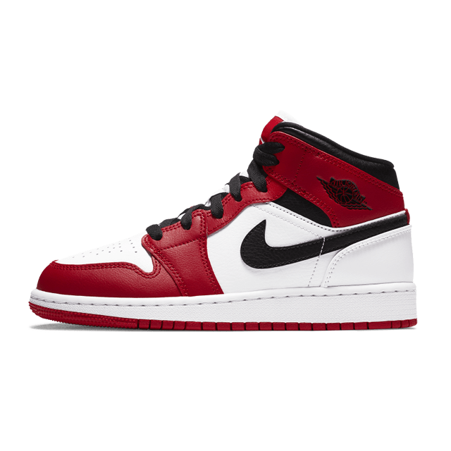Air Jordan 1 Mid Chicago (GS)