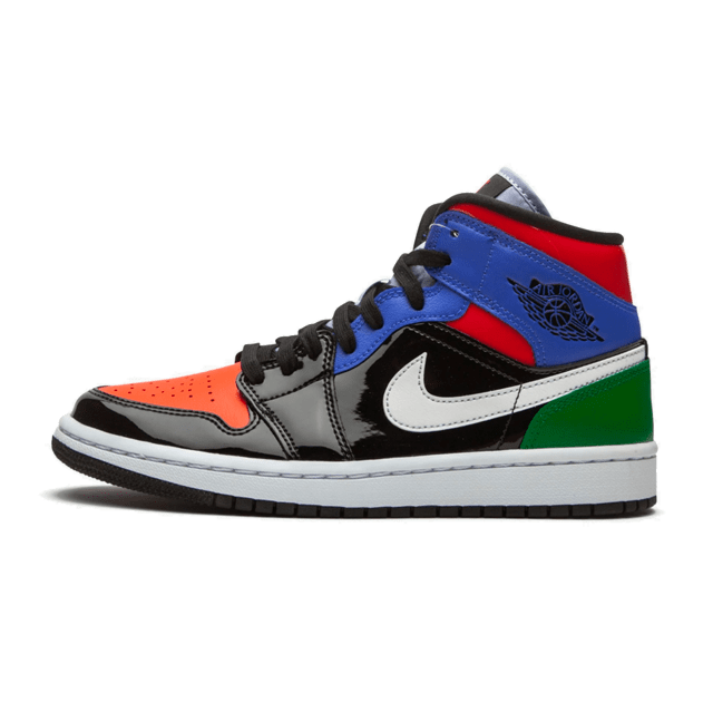 Air Jordan 1 Mid Multi Patent (W)