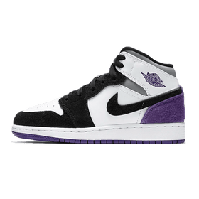 Air Jordan 1 Mid SE Purple (GS)