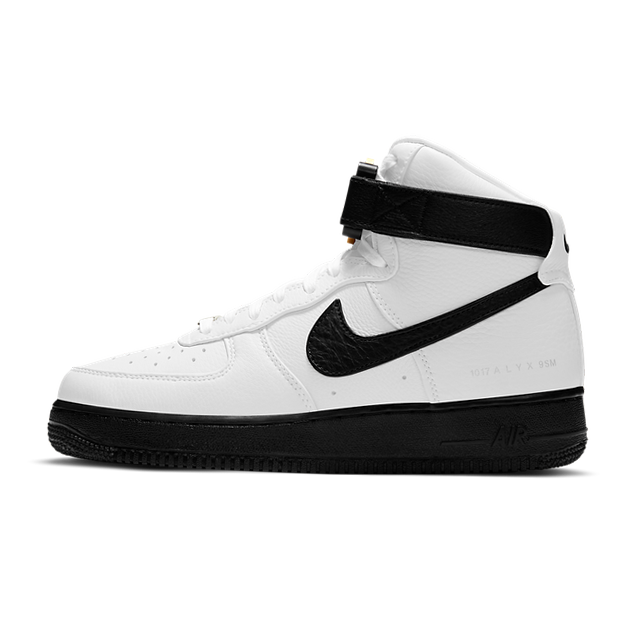 Alyx X Nike Air Force 1 High White Black