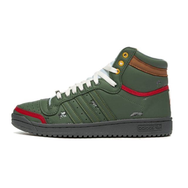 Star Wars X Adidas Top Ten Hi Boba Fett