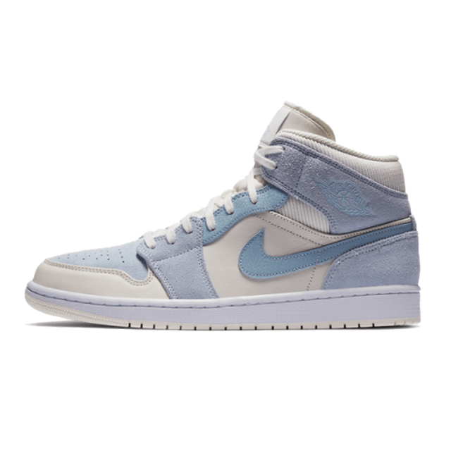 Jordan 1 Mid Mixed Textures Blue