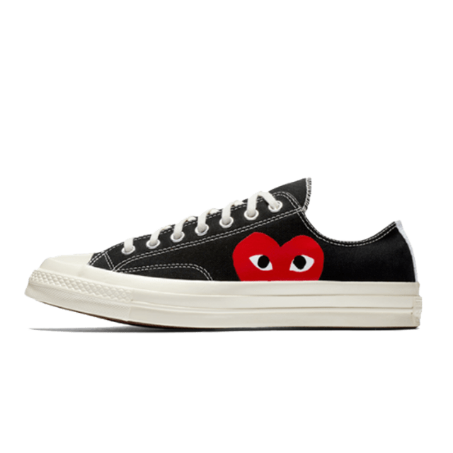 Comme Des Garcons Play X Converse Chuck 70 Low Black