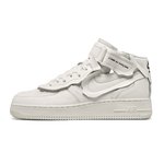Comme Des Garcons X Nike Air Force 1 Mid White