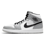 Jordan 1 Mid Light Smoke Gray - Bogess