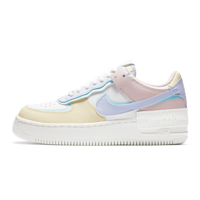 Nike Air Force 1 Shadow White Glacier Blue Ghost (W)