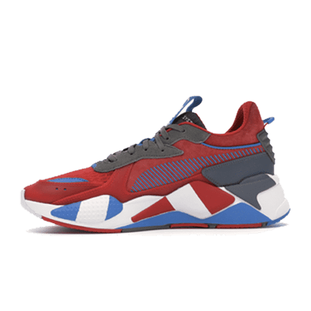 Puma rs-x retro red grey indigo