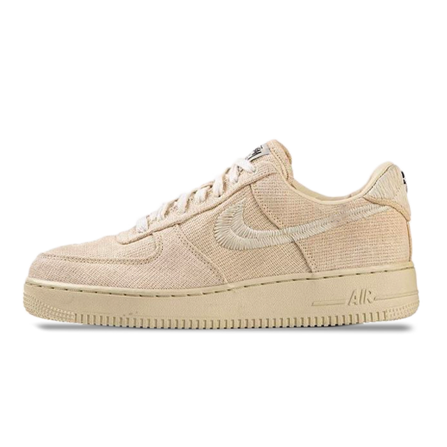 STÜSSY X Nike Air Force 1 Fossil Stone