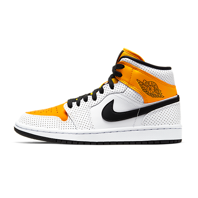 Air Jordan 1 Mid Laser Orange