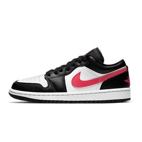 Air Jordan 1 Low Black Siren Red (W)