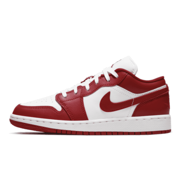Jordan 1 Low Gym Red White (GS)