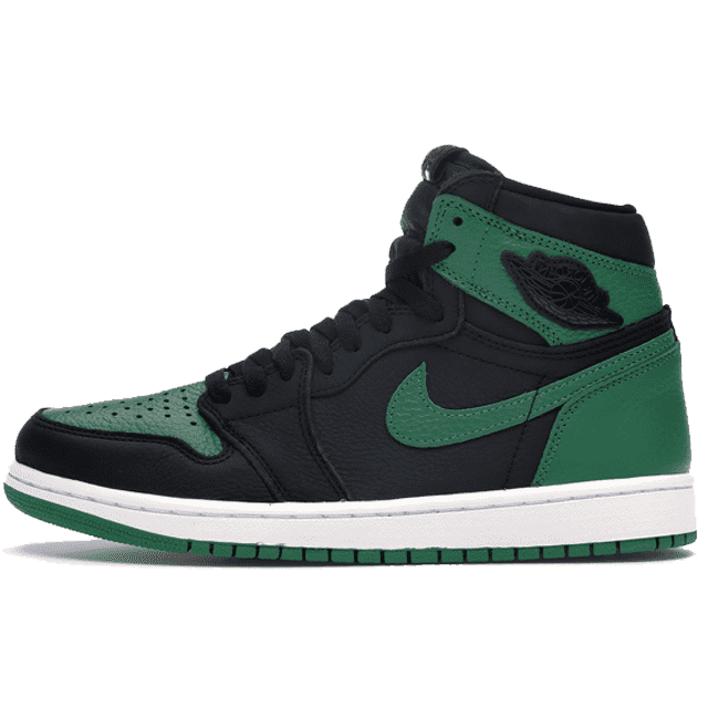 Jordan 1 Retro High Pine Green Black