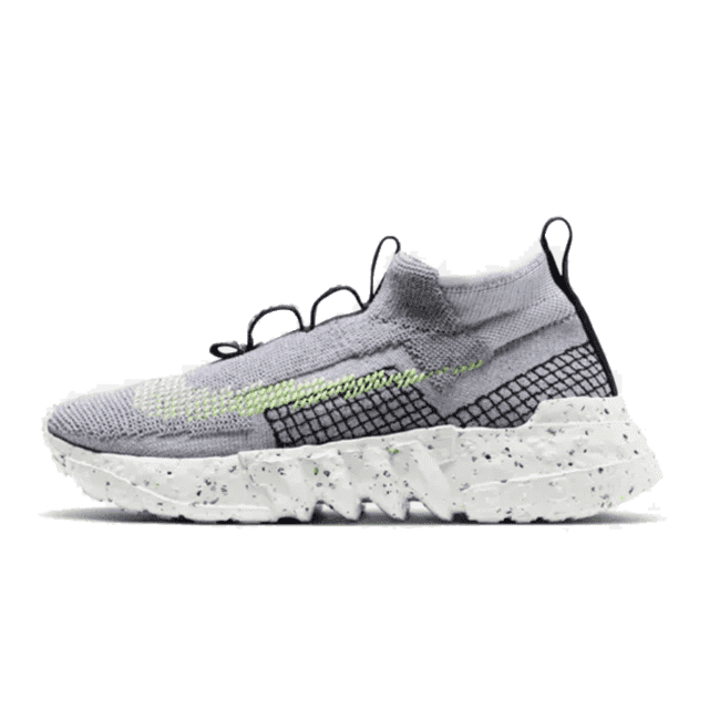 Nike Space hippie 02 Grey Volt - Bogess