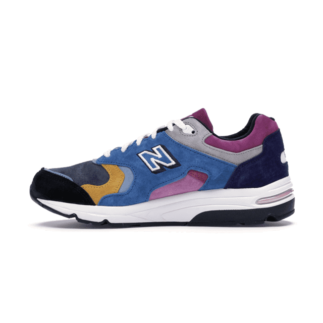 New Balance 1700 Kith The Colorist Blue