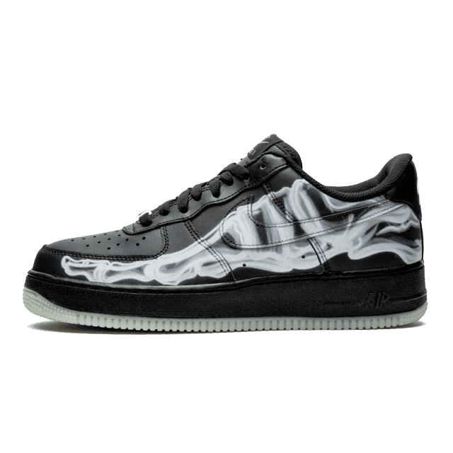 Nike Air Force 1 Low Black Skeleton - Bogess