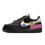 Nike Air Force 1 Shadow Removable Patches Black Pink (W) - Bogess
