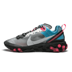 Nike React Element 87 Blue Chill Solar Red - Bogess