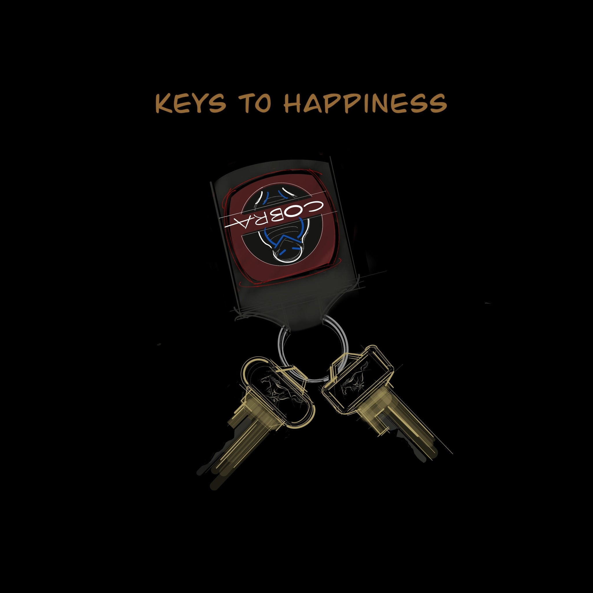 Keys to Happiness // 1966 Shelby GT350 | T-shirt