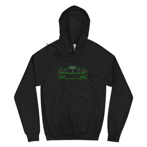2013 Boss 302 Mustang + Taillights Hoodie (Gotta Have it Green!)