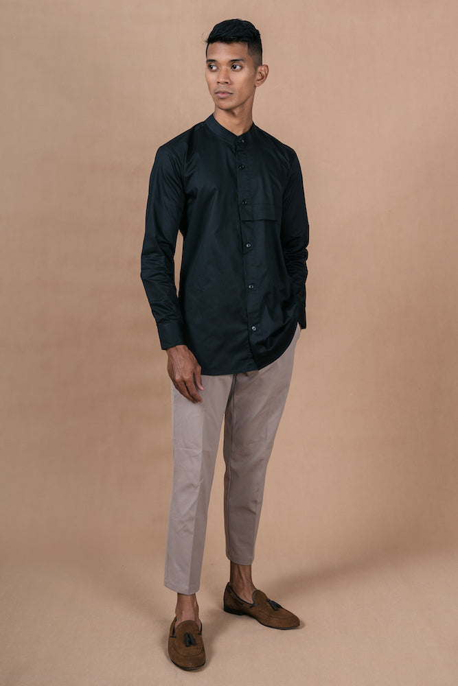 Menswear Cotton Black