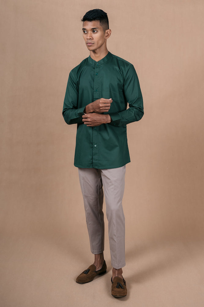 Menswear Cotton Green