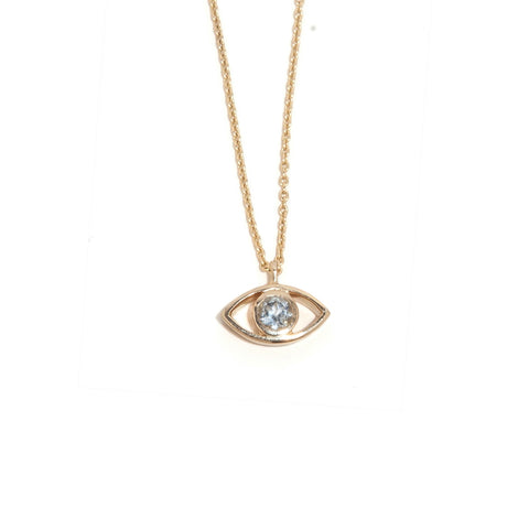 Third Eye Topaz Necklace