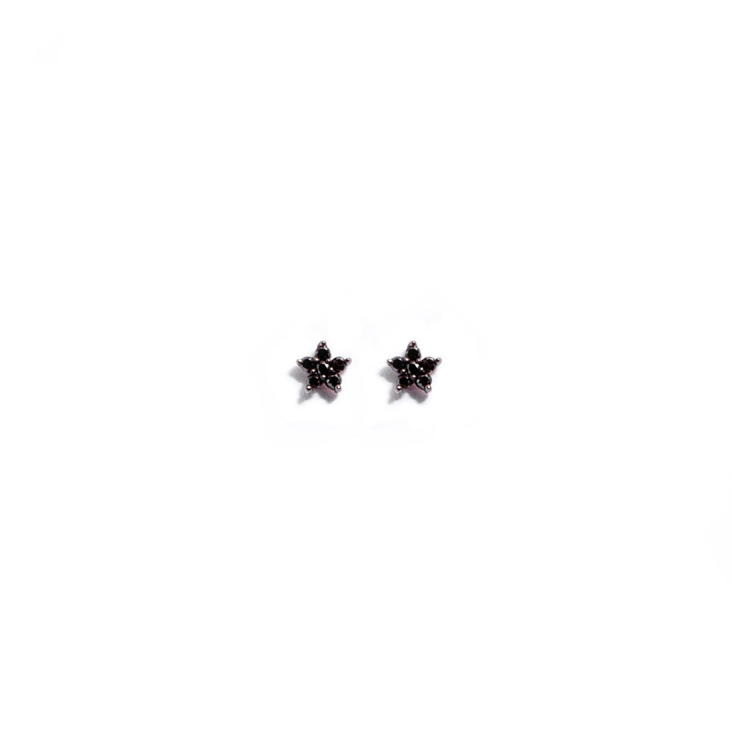 Black Diamond Tiny Star Stud