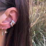 Black Diamond Ear Cuff