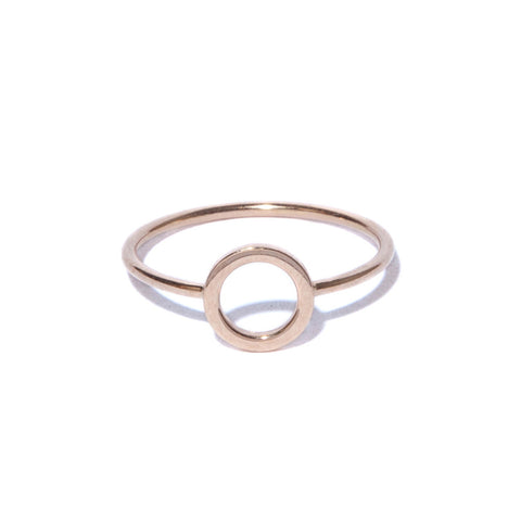 Rose Gold Degree Ring