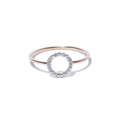 Diamond Degree Ring