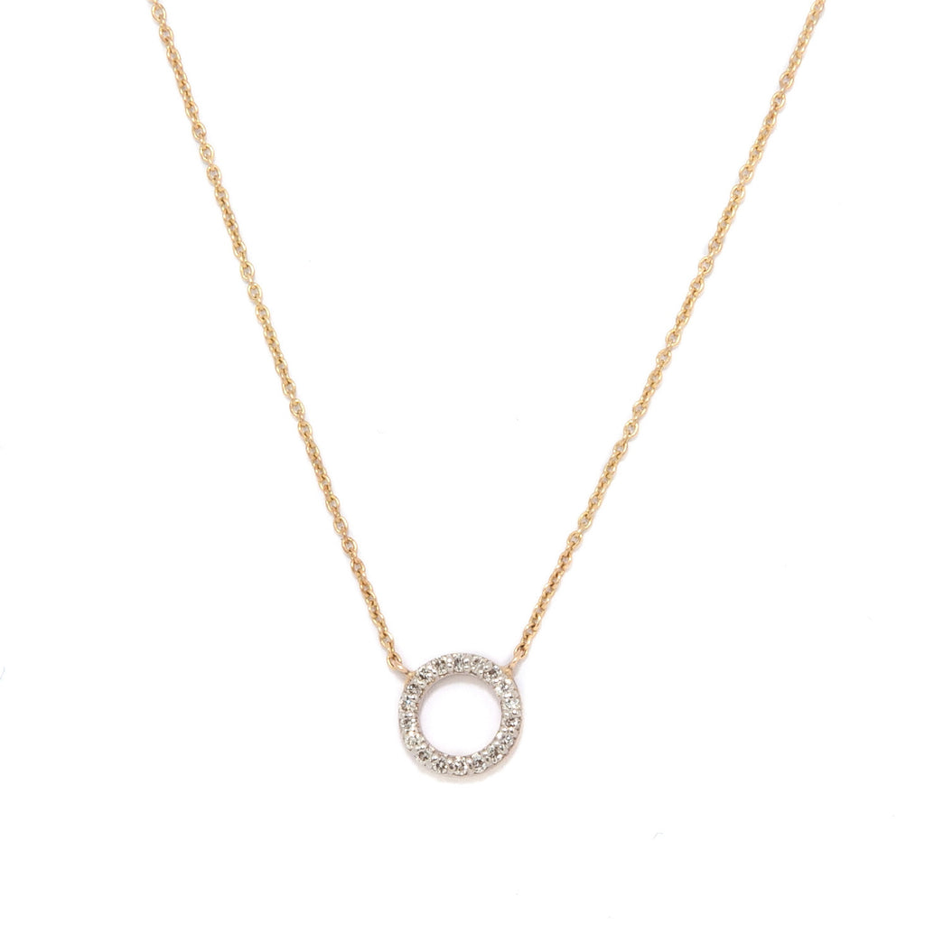 Diamond Degree Necklace