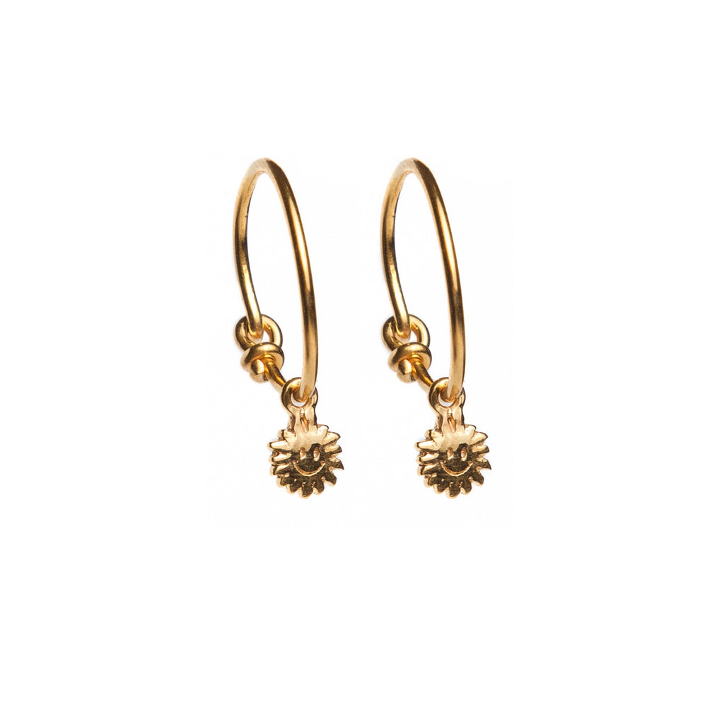 Mr Sunshine Hoop Earrings
