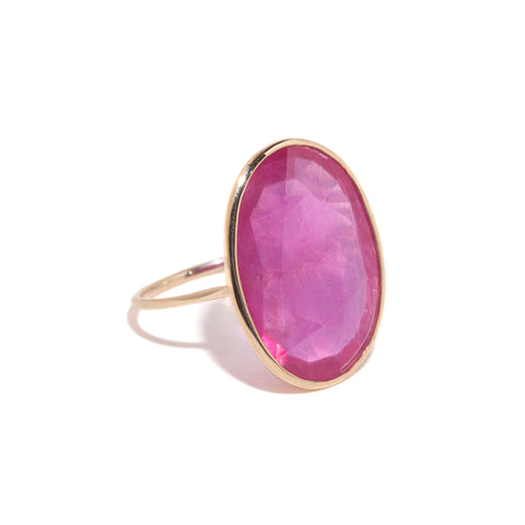 Extra Large Ruby Cocktail Ring
