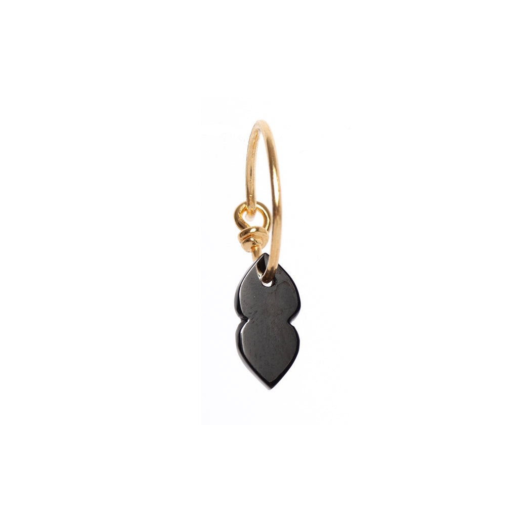 Black Onyx Double Drop Earring