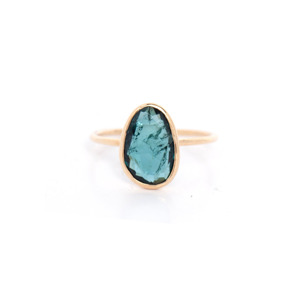 Small Tourmaline Cocktail Ring