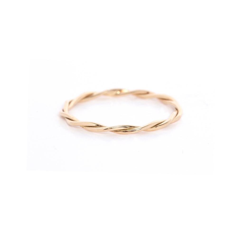 Gold Wreath Ring