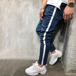 Braided Stitching Drawstring Pants