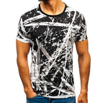 Fashion Splash Short Sleeve Tee T Shirt