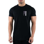 Sports Solid Short Sleeve T Shirt