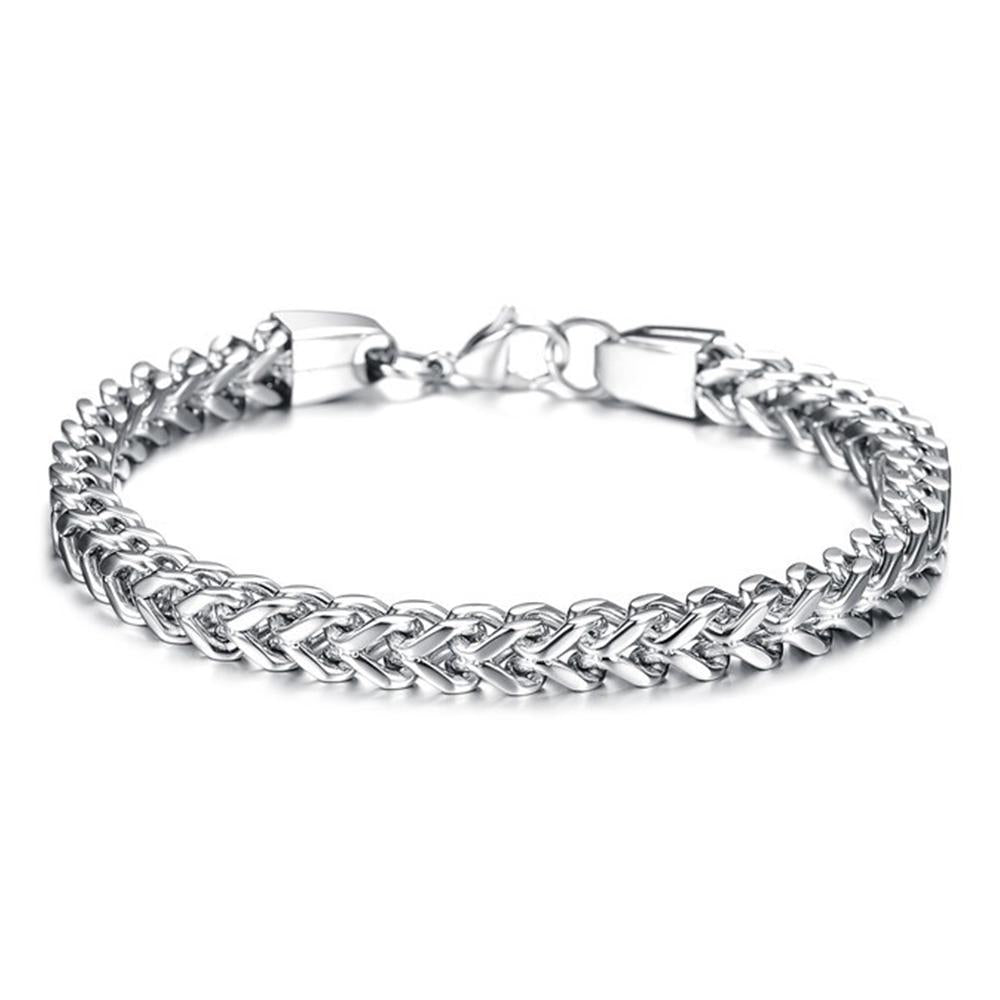 Titanium Steel Fish Scale Bracelet
